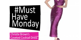 Must-Have Monday: Christie Brown's Cocktail Dress