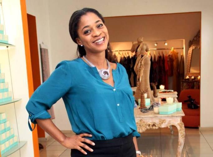 Folake Folarin-Coker Nigerian, Founder & Fashion Designer, Tiffany Amber