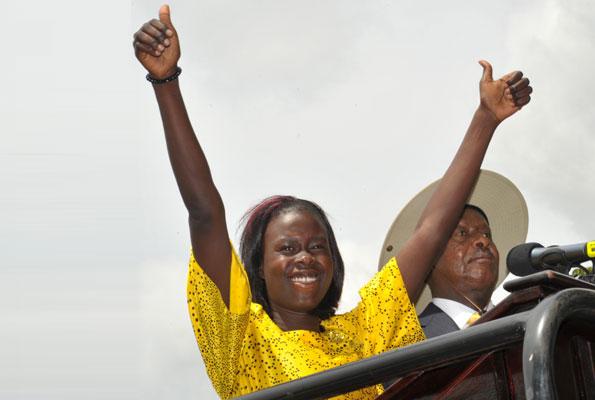 Alengot Oromait Ugandan, Member Of Parliament