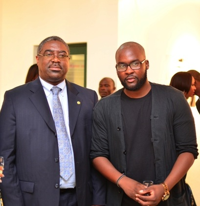 (Left) Tunde Fowler, Executive Chairman, LIRS & Lakin Ogunbanwo (Right)