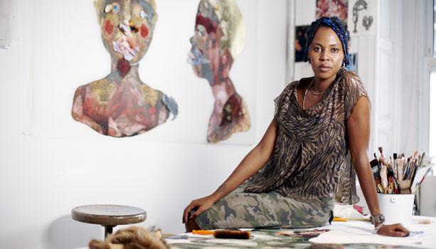Wangechi Mutu Kenyan, Artist and Sculptor