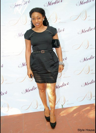 Rita at the Launch of Medici Lounge in Lagos